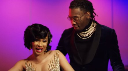 Cardi-B-Offset-Lick-Music-Video